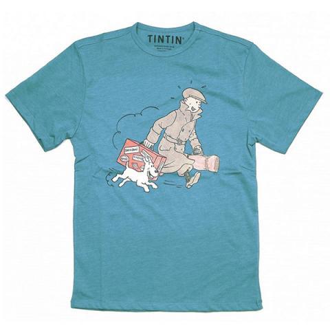 T-Shirt - Blå Ils Arrivent Medium