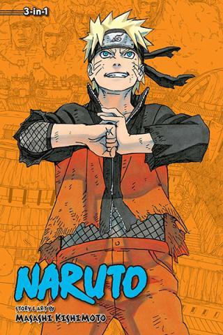 Naruto 3-in-1 Vol 22