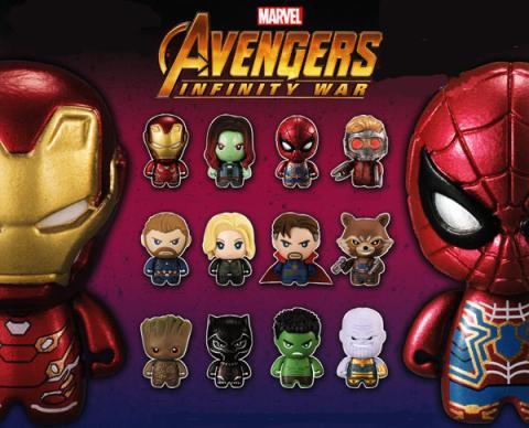 Marvel Avengers Infinity War ColleChara! Capsule