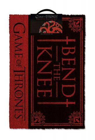 Doormat Bend the Knee 40 x 57 cm