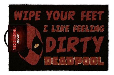 Deadpool Doormat Dirty 40 x 57 cm