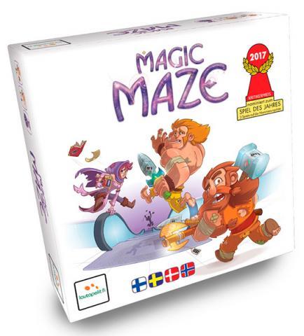 Magic Maze (Skandinavisk)