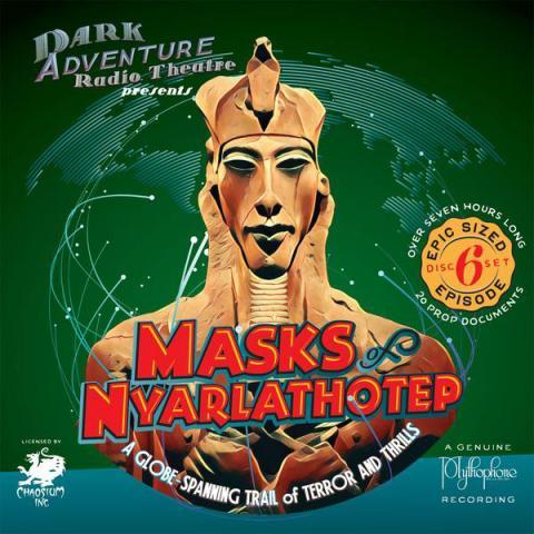 Masks of Nyarlathotep - audio drama CD