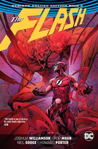 The Flash Rebirth Deluxe Collection Book 3