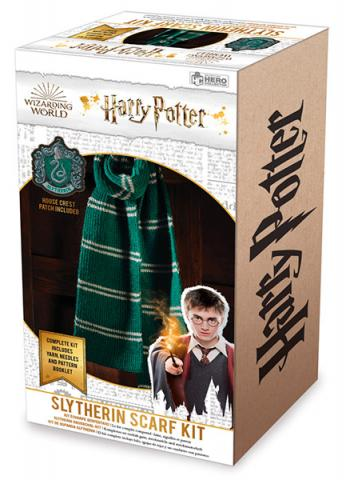 Slytherin Scarf Knit Kit
