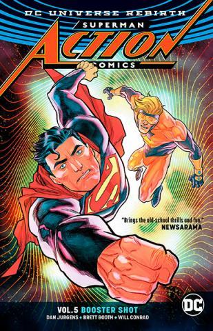 Superman Action Comics Rebirth Vol 5: Booster Shot