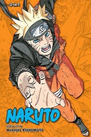 Naruto 3-in-1 Vol 23
