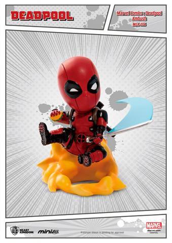 Deadpool Mini Egg Attack Figure Ambush 9 cm