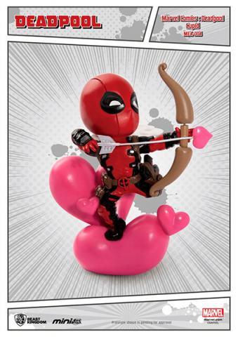 Deadpool Mini Egg Attack Figure Cupid 10 cm