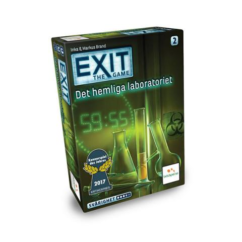EXIT - Det hemliga laboratoriet