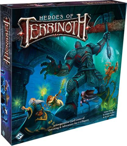 Heroes of Terrinoth - A Cooperative Card Game Core Set