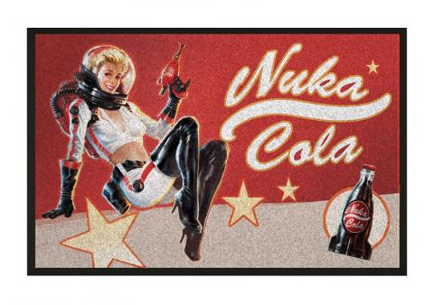 Doormat Nuka Cola Pin-Up 80 x 50 cm