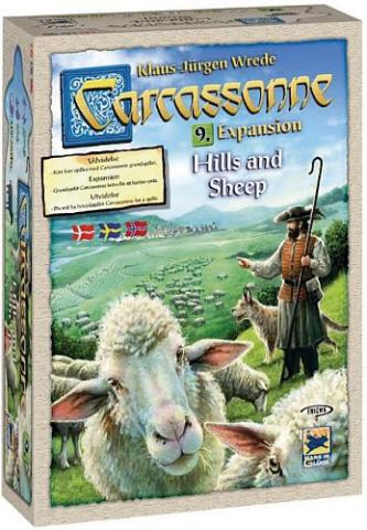 Carcassonne expansion 9 - Hills & Sheep (svensk)
