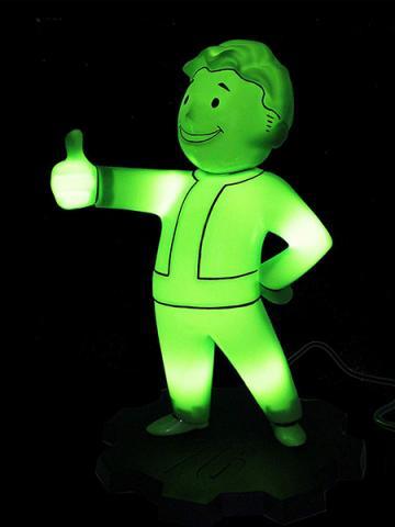 Vault Boy LED Lamp