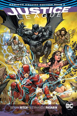 Justice League Rebirth Deluxe Collection Book 3