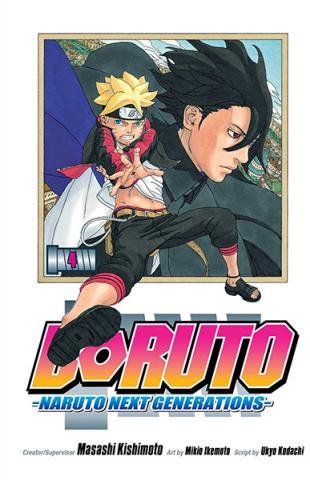 Boruto: Naruto Next Generation Vol 4