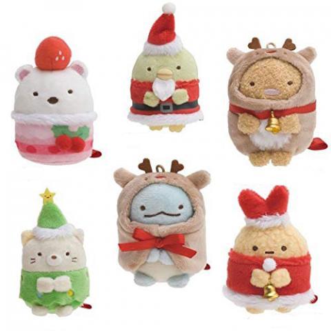 Sumikkogurashi Collection Tenori Plush Christmas Ver.