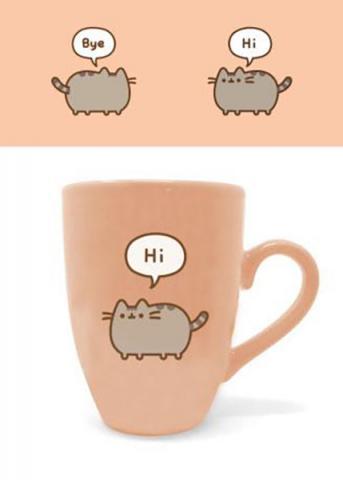 Latte Mug Pusheen Says Hi