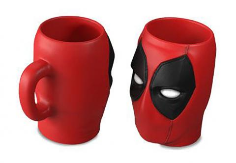 Deadpool 3D Sculpted Mug Head