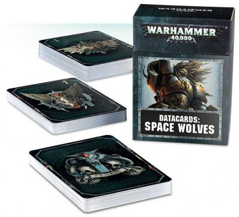 Datacards: Space Wolves (2018)