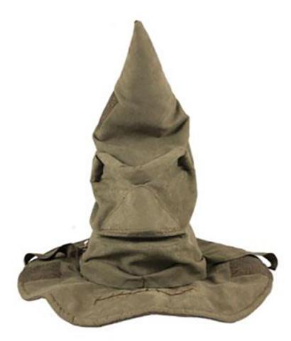 Harry Potter Interactive Talking Sorting Hat 43 cm
