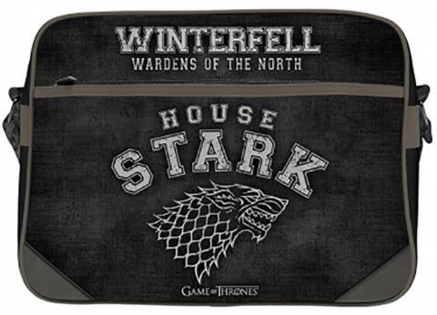 Game Of Thrones House Stark Messenger Vinyl Bag