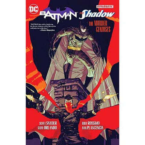 Batman/Shadow: The Murder Geniuses