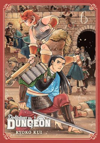 Delicious in Dungeon Vol 6