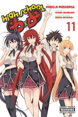 High School DXD Vol 11
