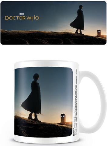 Doctor Who 13th Doctor New Dawn Coffee Mug