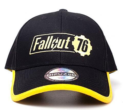 Fallout 76 Baseball Cap Yellow Logo