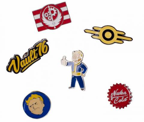 Fallout 76 Pin Set 6-Pack