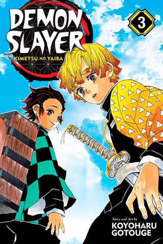Demon Slayer Kimetsu no Yaiba Vol 3