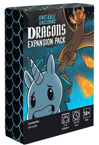 Unstable Unicorns Dragons Expansion