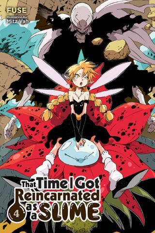 That Time I Got Reincarnated as a Slime Light Novel 4