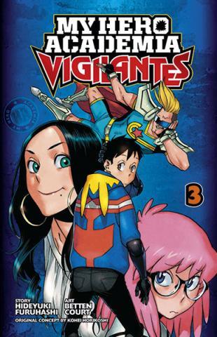 My Hero Academia Vigilantes Vol 3