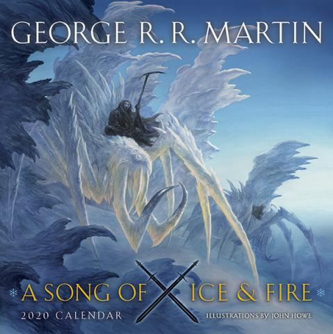 A Song of Ice and Fire 2020 Wall Calendar