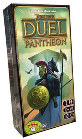 7 Wonders Duel Pantheon Expansion (Skandinavisk utgåva)