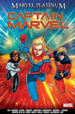 Marvel Platinum: The Definitive Captain Marvel