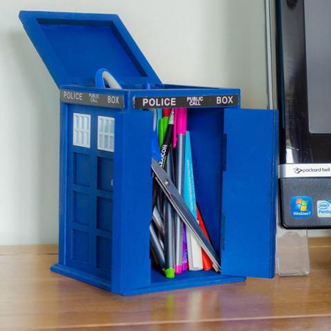 Doctor Who Tardis Desk Tidy