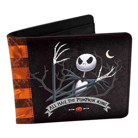 Nightmare Before Christmas Jack Vinyl Wallet