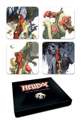 Hellboy Coaster Set
