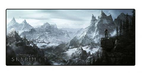 Elder Scrolls V Skyrim Oversize Mousepad Valley