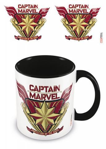 Captain Marvel Coloured Inner Mug Protector