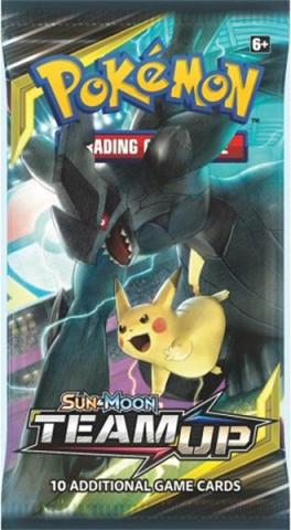 Sun & Moon Team Up Booster