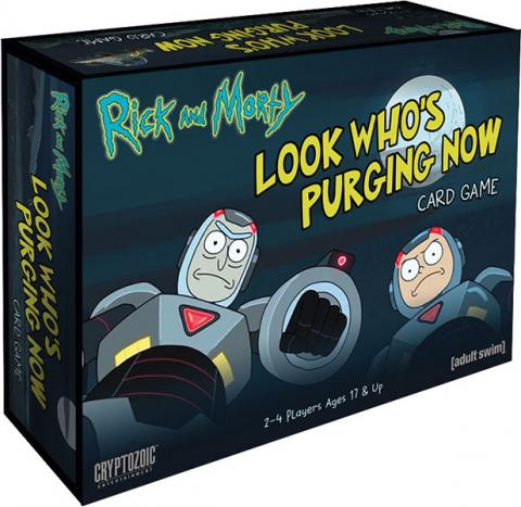 Rick and Morty: Look Who`s Purging Now Card Game