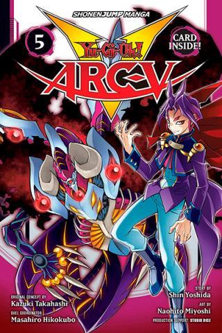 Yu-Gi-Oh Arc V Vol 5