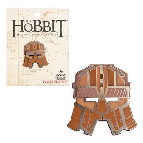 The Hobbit Dwarven Helmet Collectable Pin