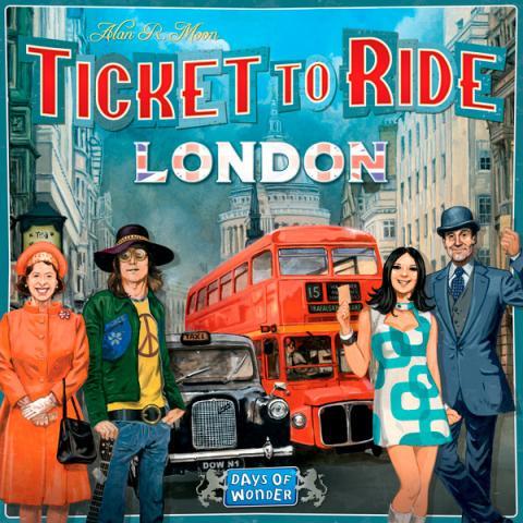Ticket to Ride - London (Skandinavisk utgåva)