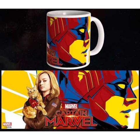 Captain Marvel Mug Carol & Goose